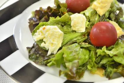 レシピ、乾燥スライスにんにく、サラダ、イタリアン